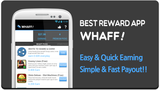 download whaff reward, download whaff, cara menggunakan whaff, whaff locker, whaff rewards coc, whaff rewads, aplikasi whaff, Cara Mendapat Uang Dari Whaff, cara dapat uang banyak, aplikasi penghasil dollar, aplikasi penghasil uang,